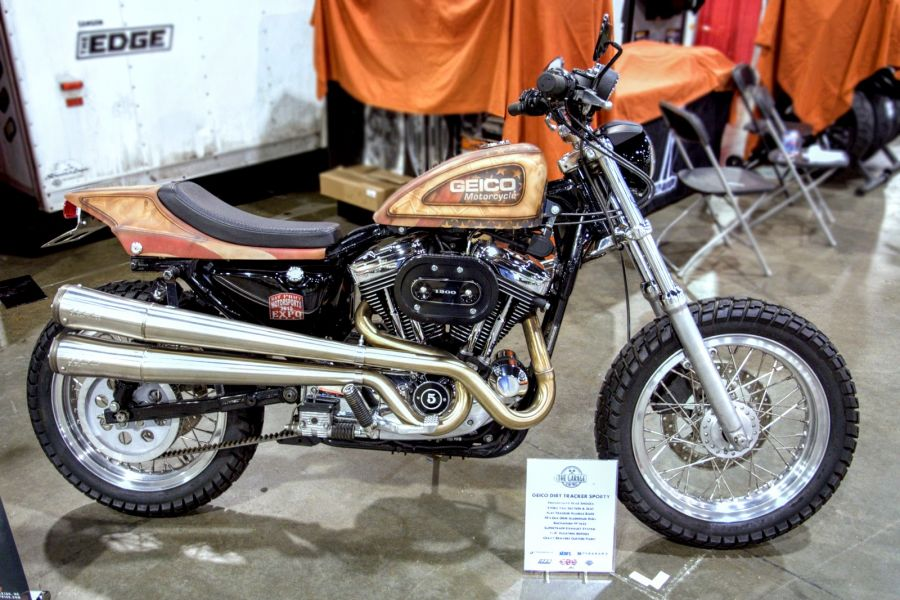 GEICO's Flat Track Sportster
