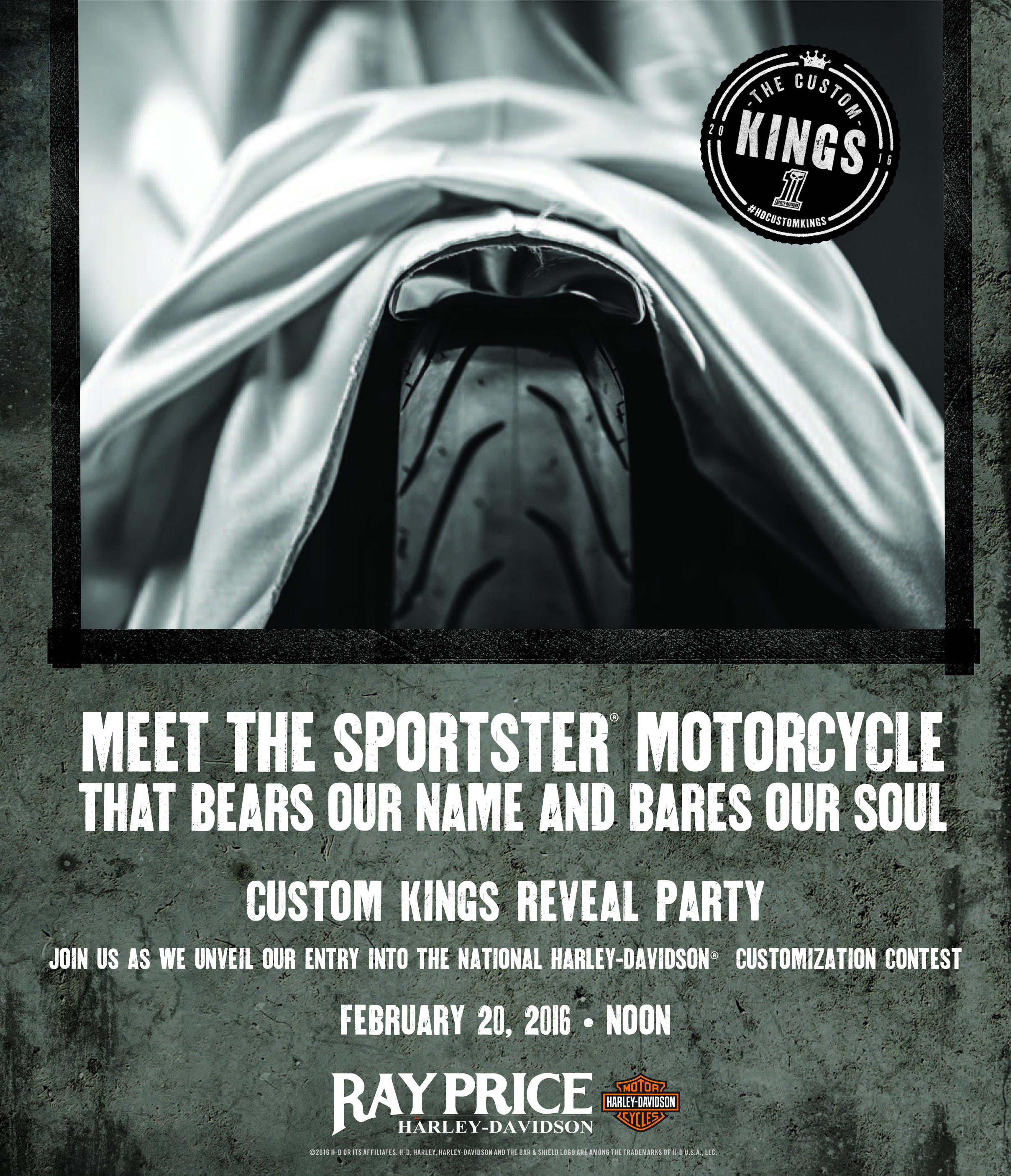 Custom Kings Reveal Party