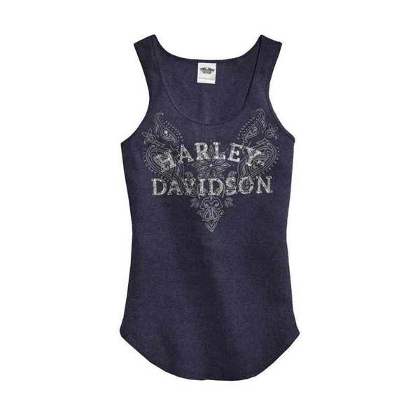 Women's Embellished Graphic Tank