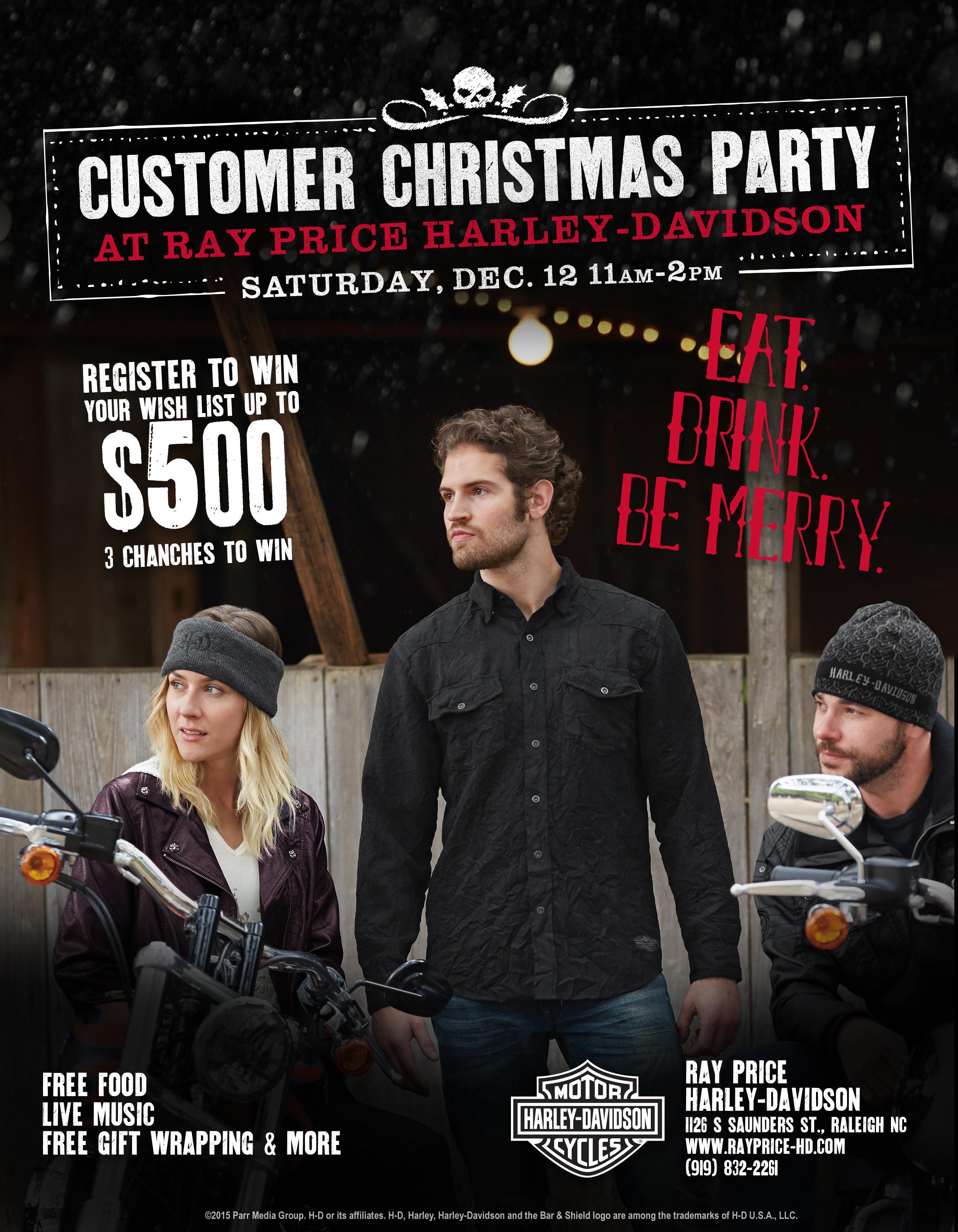 Customer Christmas Party