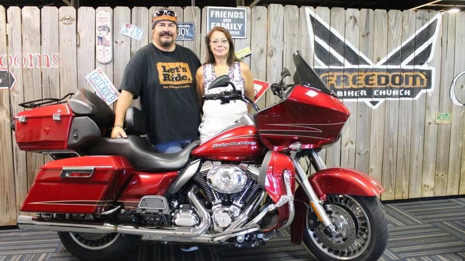 Mike Beasley and his wife, Charlene