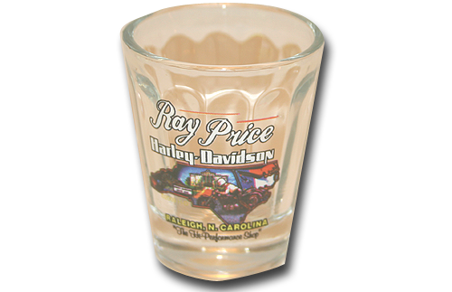 Beveled Custom Shotglass