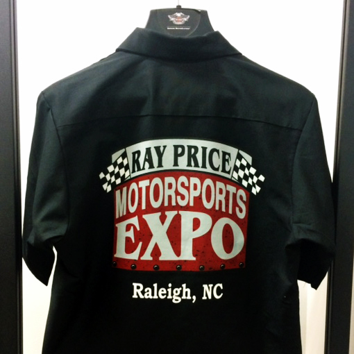 Motorsports Expo Garage Shirt