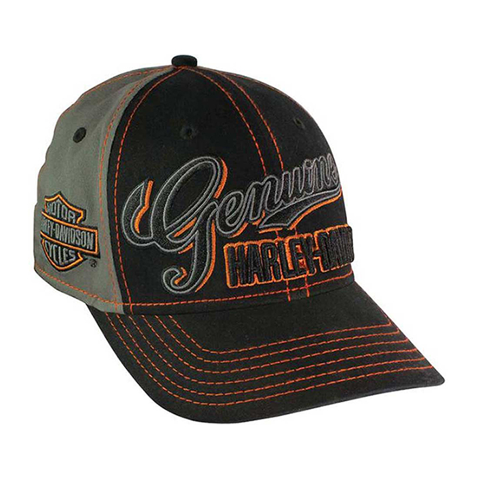 Genuine Script Fitted Ballcap