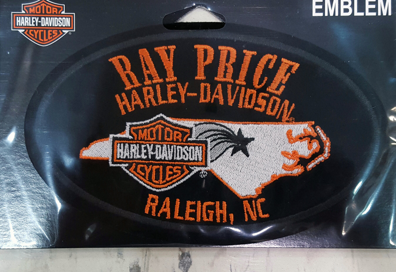 Ray Price H-D Patch