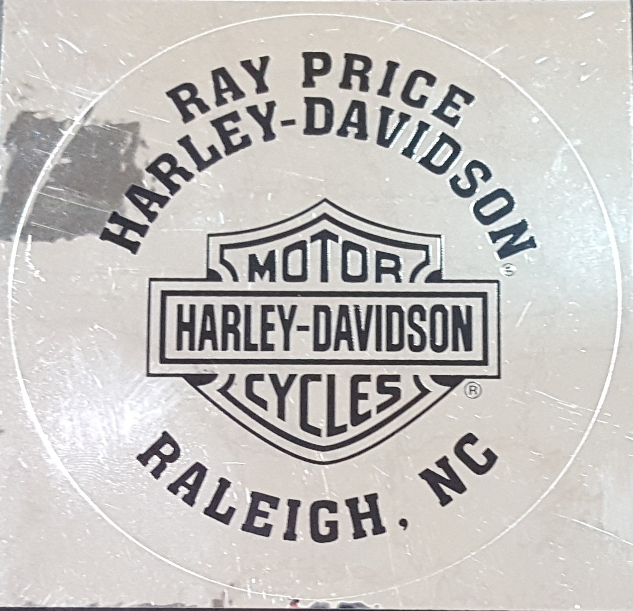 Ray Price H-D Decal