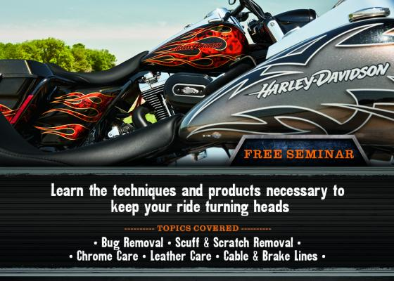 Learn to Detail Your Bike Seminar